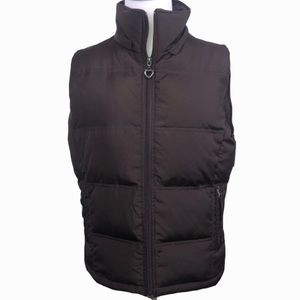 Maurices Brown Down Filled Puffer Vest